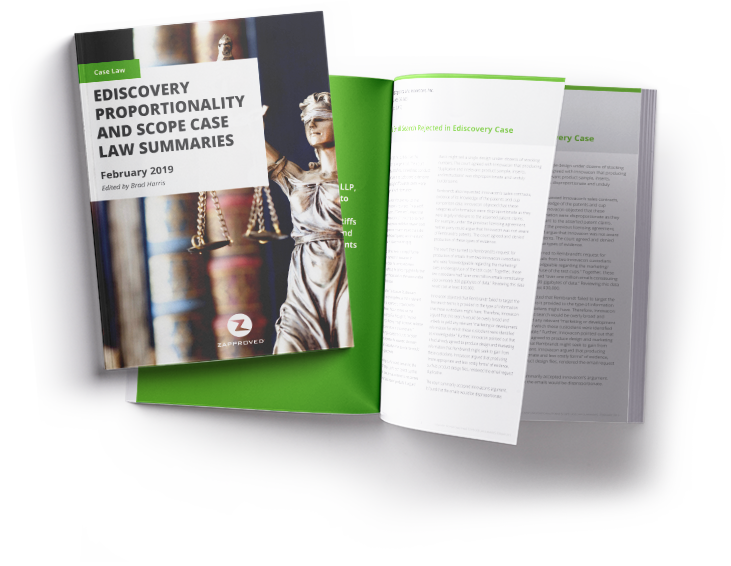 Explore our latest case law digest about proportionality