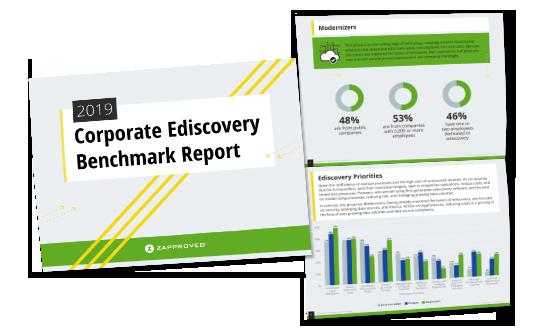 Corporate Ediscovery Benchmark Report